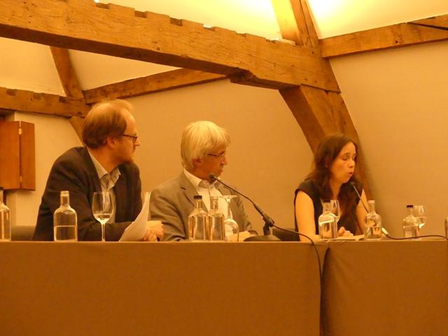 Het panel Patrick Loobuyck, Pieter Leroy en Sara Vicca