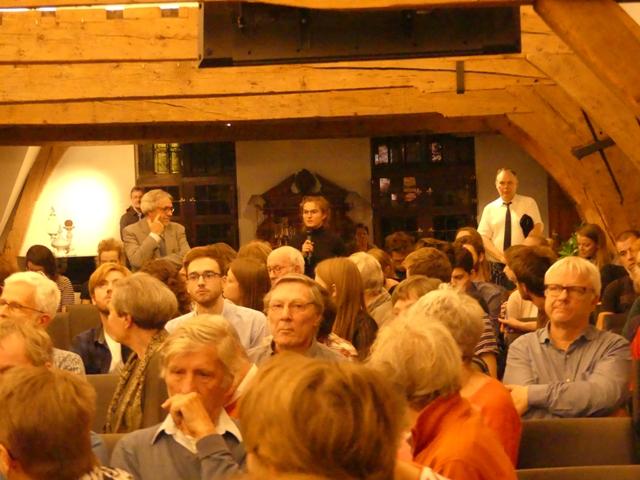 Vragen uit het publiek