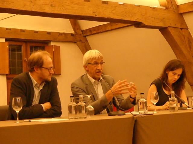 Het panel Patrick Loobuyck, Pieter Leroy, Sara Vicca