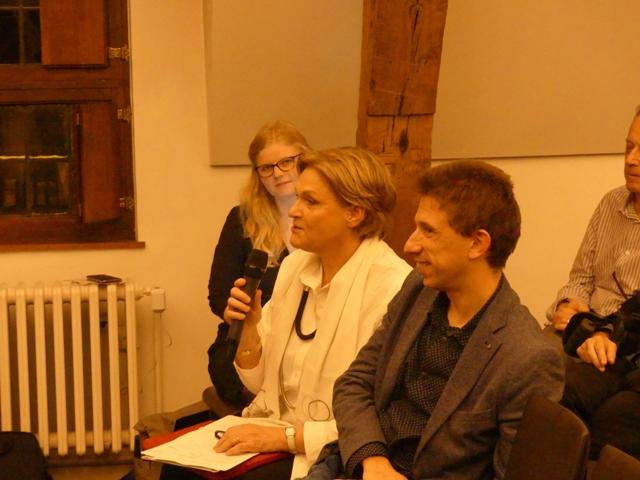 Nynke van Uffelen, Bea Cantillon en Stijn Latré