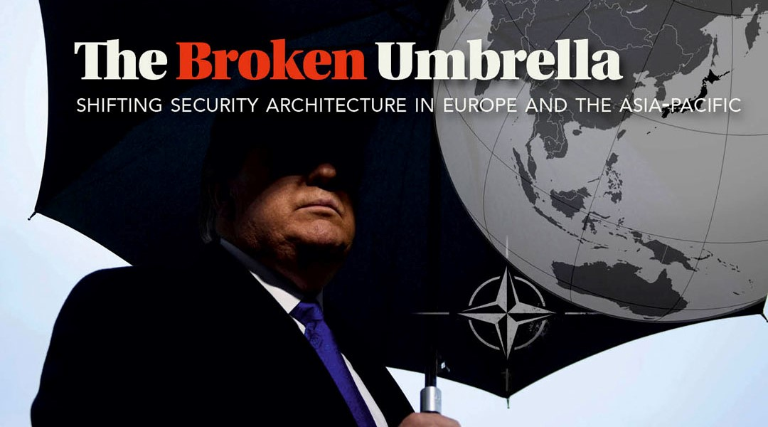 the broken umbrella
