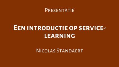 Een introductie op service-learning
