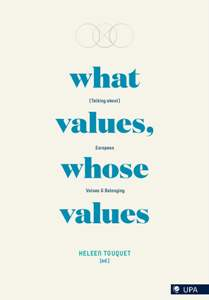 book cover - What Values, Whose Values