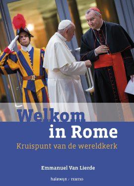 Cover boek - Welkom in Rome - Emmanuel Van Lierde